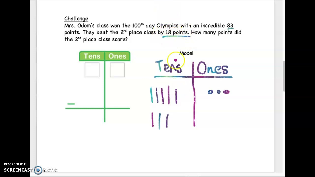 2 Digit Subtraction With Regrouping YouTube
