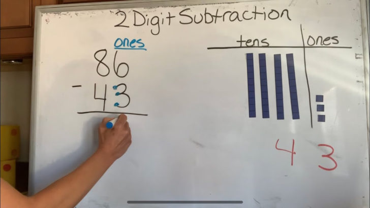 Subtraction Without Regrouping Video