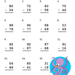 6 Subtraction Worksheet Examples PDF Examples