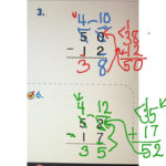 Subtraction Regrouping With Zero Math 2nd Grade Math