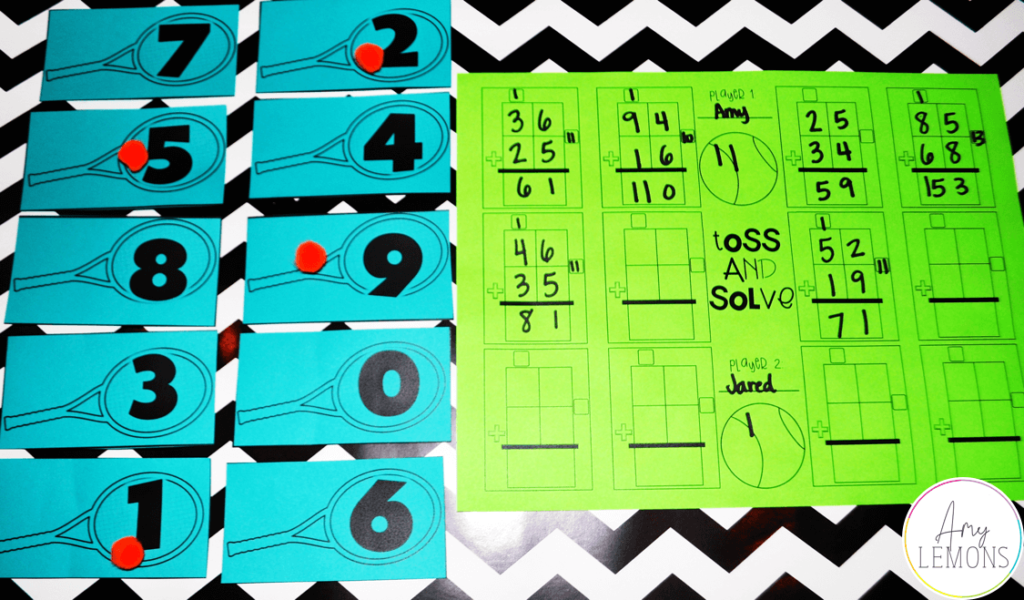Subtraction With Regrouping Game Amy Lemons